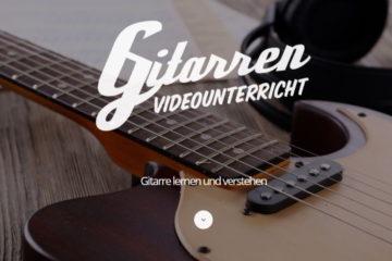 Gitarre spielen nach Noten